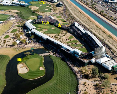 Waste Management Phoenix Open - Best 3 Holes