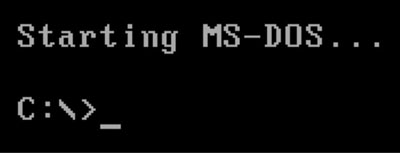 md dos c prompt
