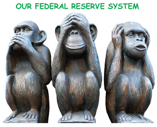 three monkeys federal reserve system