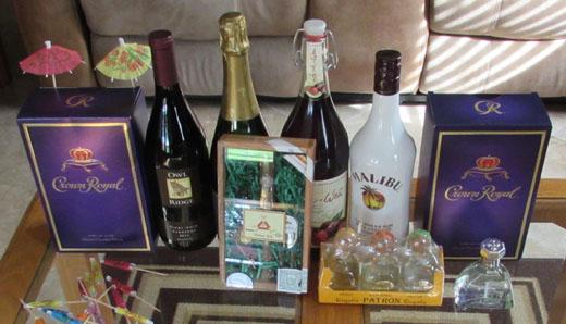 birthday booze
